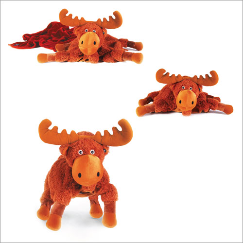 Zoobies Mudd the Moose Travel Blanket and Pillow