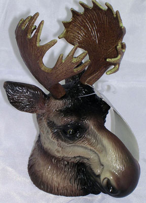 Moose Head Trailer Hitch Ball Cover